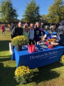 Team TM at the Alzheimer's Walk